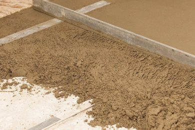 Sand and Cement Screeding